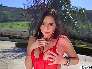 Large mambos chick karlee grey receives a hardcore twat and anal teamfucked