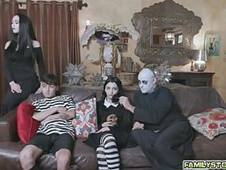 The Addams Family's family orgy
