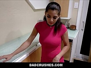 Dispirited Young Partygirl Latina Stepdaughter With A Succulent Butt Gabriela Lopez Punished Nuisance And Pussy Fingered Anent Orgasm Away from Stepdad POV