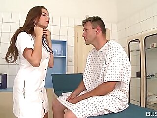Be in charge lover bangs Doc Marina Visconti more than the investigation table & covers jugs with cum